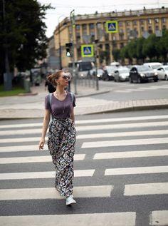 PURE FASHION | Katerina Dorokhova: ЮБКА + КРОССОВКИ
