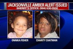 Six-year-old Onnika Fisher was last seen in Jacksonville and may be with 39-year-old Charity Chatman. (PHOTOS/Florida Department of Law Enfo...