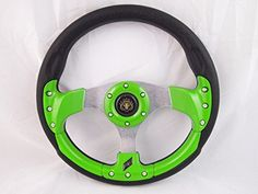 New World Motoring CLUB CAR PRECEDENT Green steering wheel golf cart With Adapter 3 spoke - http://www.caraccessoriesonlinemarket.com/new-world-motoring-club-car-precedent-green-steering-wheel-golf-cart-with-adapter-3-spoke/  #Adapter, #Cart, #Club, #Golf, #Green, #Motoring, #PRECEDENT, #Spoke, #Steering, #Wheel, #World #All-Green-Automotive, #Green-Automotive