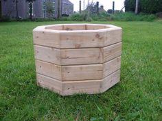 wood planters | Octagonal Planter 3×2 | Handmade Wooden Planters