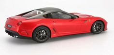 FERRARI 599 GTO RED Resin Model in 1:18 Scale by BBR