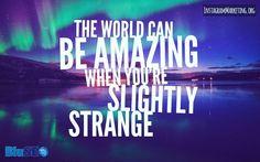 #slightlystrange #amazingworld # Instagram @martinhosner #followme