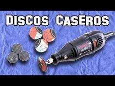 ✔ Cómo Hacer Discos Caseros para Dremel | How to Make Homemade Discs for Dremel - YouTube