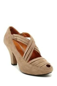 Gentle Souls by Kenneth Cole Remody Peep Toe Pump by Assorted on @HauteLook