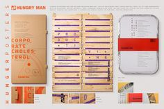 Hungry Man / Hunger Posters - Pedro Reis › Art Director