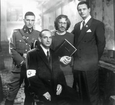 Schindler's List Ralph Fiennes, Steven Spielberg, Liam Neeson & Ben Kingsley