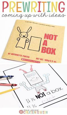 A Pre-Writing Activity for Kids