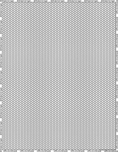 Free printable graph paper for Peyote stitch, loom work, right angle weave