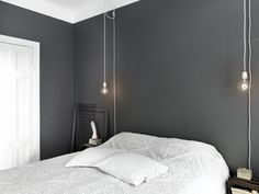 ideas grey bedroom lighting ideas for 2020 Home Design Decor, House Design, Interior Design, Home Decor, Design Hotel, Bedside Lighting, Bedroom Lighting, Bedroom Chandeliers, Bedside Lamp