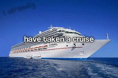 Already done...14 to be exact (ive been on 5 cruises.) ? lost count!! lol
