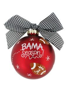 University of Alabama #1 Fan Ornament | Roll Tide | Pinterest ...