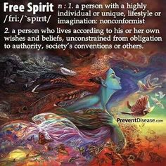 I will be an old lady free spirit!