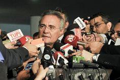 Renan explica decisão de não se afastar do cargo conforme determinação d...