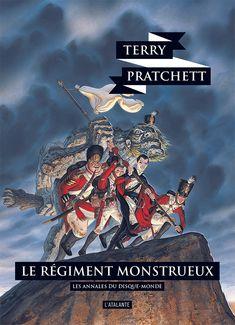 Nouvelle édition ! Le régiment monstrueux de Terry Pratchett, Les Annales du Disque-monde (livre 31, 2018) ©Paul Kidby / Leraf