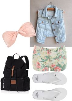 """summer 2013"" by sarahzimmerling ❤ liked on Polyvore"