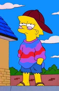 The Simpsons, Cartoon portrait, Simpsons aesthetic Lisa Simpson, Trippy Painting, Cartoon Painting, Trippy Cartoon, Cartoon Art, The Simpsons, Simpsons Quotes, Mini Canvas Art, Cute Canvas