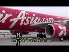 Painting of AirAsia Airplanes エアアジアの色々な機体
