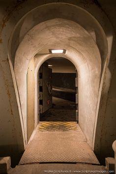 Apollo Rubber/Blast Rooms beneath launch pad 39A. Images (c) Walter Scriptunas @wscriptunas