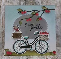 'Bike Ride' , 'Sheltering Tree', bird from 'Wherever You Go', branch from 'Seasonal Layers Thinlits' Stampin'Up! www.stamp-ing.blogspot (2)