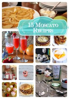 Moscato recipes for you to enjoy From Community Table!