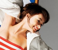 Olivia Wildes Glamour photo shoot hairstyles
