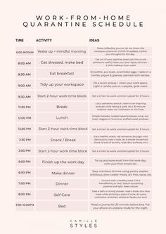 "Daily Schedules for Your ""Work From Home"" and ""Kids At Home"" Quarantine Time routine schedule for kids Daily Routine Schedule, Routine Planner, Kids Schedule, Daily Schedules, Routine Chart, Home School Schedule, Daily Routines, Daily Schedule Printable, Kindergarten Schedule"