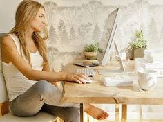 6 Tips for Achieving Good Feng Shui in Your Home Office: Create a successful home office by following our simple office feng shui tips. Working from home does present some challenges, but be sure feng shui will help you create a vibrant, productive home office. Feng shui is really easy once you focus on it!