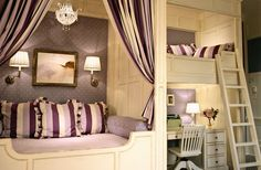 dream purple room