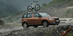 2014 Skoda Yeti 4x4: A 'grey' BOV 4wd, pretty decent capabilities and space but dosen't scream 'Please come and take my preps'