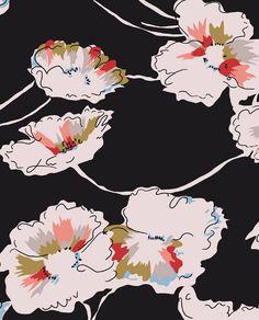 Oriental Vintage Florals - marisahopkins.com