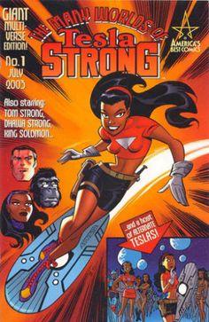 The Greatest Black Women In Superhero Comics (Who Aren't Storm) - Tesla Strong
