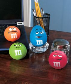 M's® Stress Relief Balls. Tried one the other day, and I'm in love...