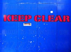 KEEP CLEAT in Wellington, with a hidden font via @richardovery