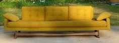 Adrian Pearsall Mid Century Danish Modern Sofa | eBay