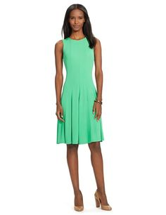 Köp Ralph Lauren ALLANA SLEEVELESS CREWNECK DRESS HAMPTON GREEN från 1695:- - Best Of Brands