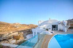 Luxury real estate in Mykonos Greece - Artemide Villa - JamesEdition Luxury Villa Rentals, Mykonos Greece, Unique Architecture, Luxury Holidays, Luxury Real Estate, Traditional House, Luxury Homes, Villas, Vacation