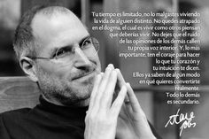 Tu tiempo es limitado... Steve Jobs  #Coaching