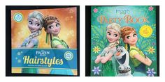 Disney Frozen Fever Hairstyles And Disney Frozen Fever Party Books
