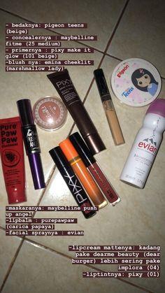 Daily Makeup, Makeup Set, Skin Makeup, Beauty Care, Beauty Skin, Beauty Makeup, Push Up Angel, Papaya Facial, Facial Wash
