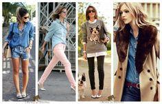 Camisa jeans para frio_como se vestir no outono_roupas para outono 2