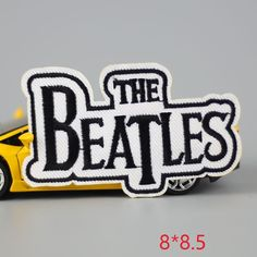[Visit to Buy] HOT sale 1PC fashion beatles Iron On Embroidered Patch For Cloth Cartoon Badge Garment Appliques DIY Accessory #Advertisement