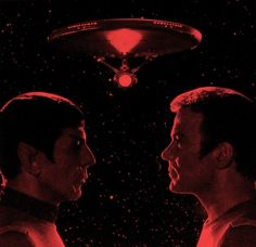 .:Spock and Kirk:.