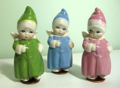 German Penny Porcelain Dolls -- rare are they who survive in such great condition!
