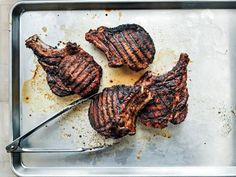 Get Grilled Pork Chops Recipe from Food Network