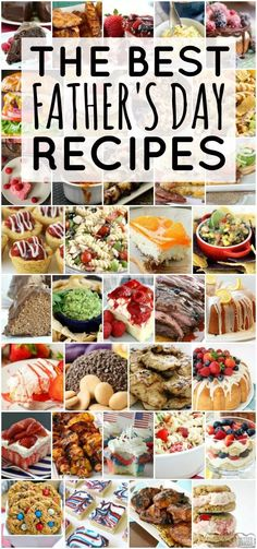 Father's Day Ideas for a very special day! Our favorite recipes to make for Dad- everything from Father's Day Brunch to Father's Day Cake! day dinner ideas BEST FATHER'S DAY RECIPE IDEAS - Butter with a Side of Bread Brunch Recipes, Summer Recipes, Easy Dinner Recipes, Holiday Recipes, Easy Meals, Dessert Recipes, Easy Recipes, Top Recipes, Diabetic Recipes