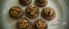 Ornamentky - kolečka s čokoládou Nutella, Rum, Muffin, Baking, Breakfast, Cake, Recipes, Foods, Party