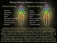 Balancing of energies is important for everyone to work with, as this is not selective for any gender, age, or race. This is something we all have to work on for our own life force and energy fields to keep them in balance for a healthy and happy life.