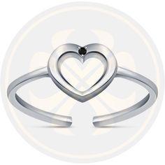 Unique Heart Shape Antique Vintage Style Round Diamond Adjustable Toe Ring #parasexports