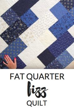 This Quilt Merges Both Light and Dark Colors, and It Couldn't Be Easier!