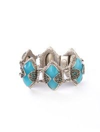 Gia Jewel Bracelet in Sky Blue